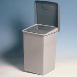 9 - Bin with lift up lid