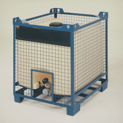 15 - IBC in metal cage