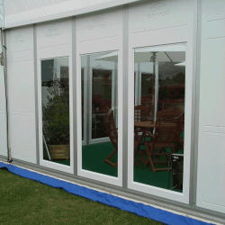 36 - Marquee panels glazed & unglazed twin wall construction insulated